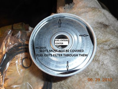Fuel wont Bleed after Fuel Filter replacement - Page 3